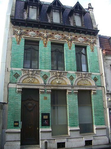 Roubaix (59), « La Maison Verte », 28 rue du Maréchal Foch – Architecte A.-G. Dubois 1893 | par Yvette Gauthier