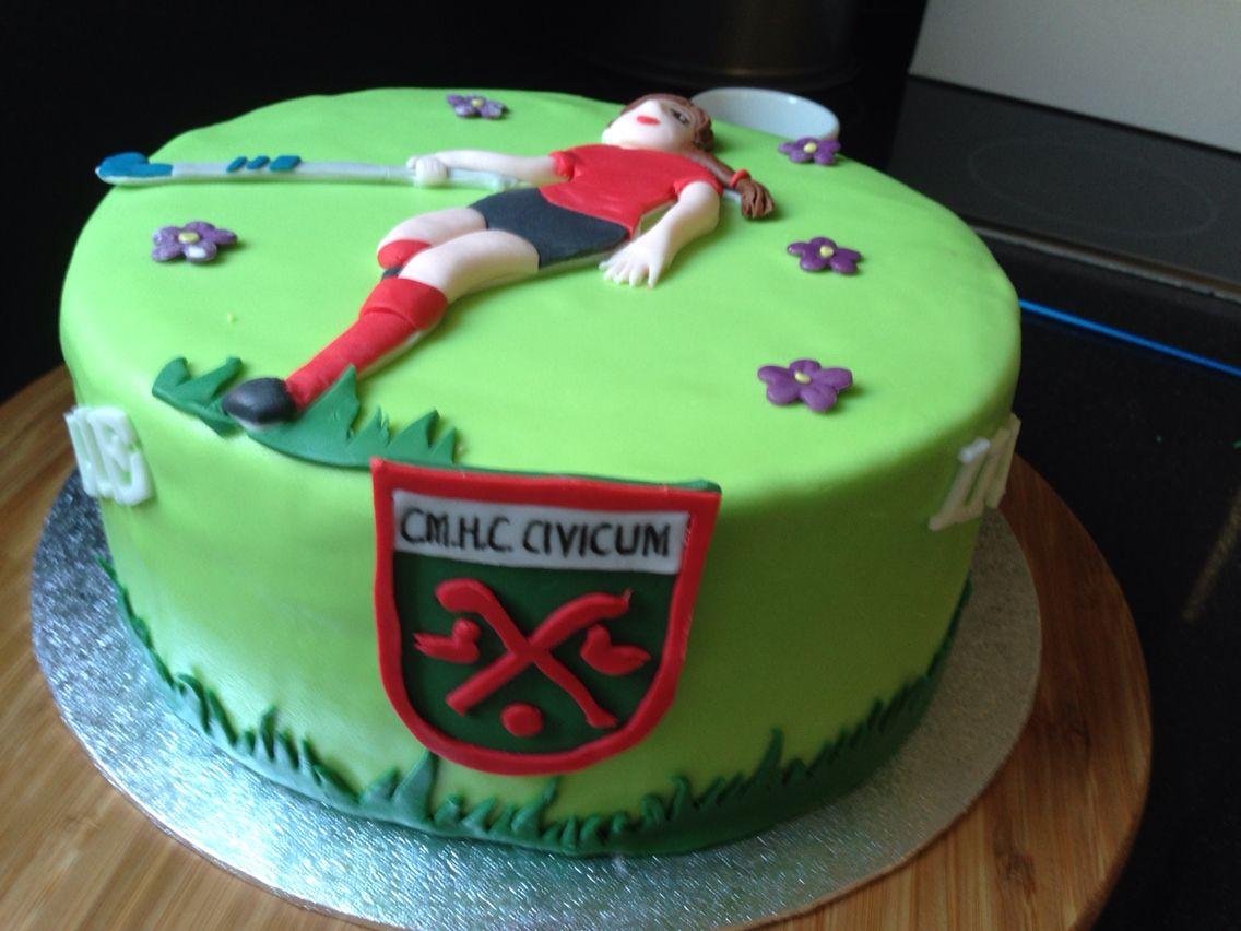 Field Hockey Cake Hockey Birthday Cake Hockey Birthday Dinosaur Birthday Cakes