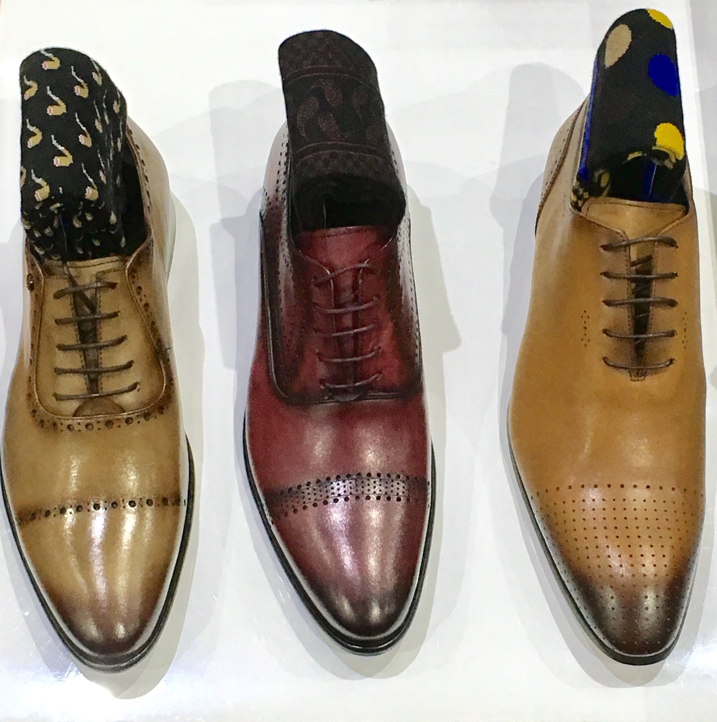 Shoes by Luciano Bellini