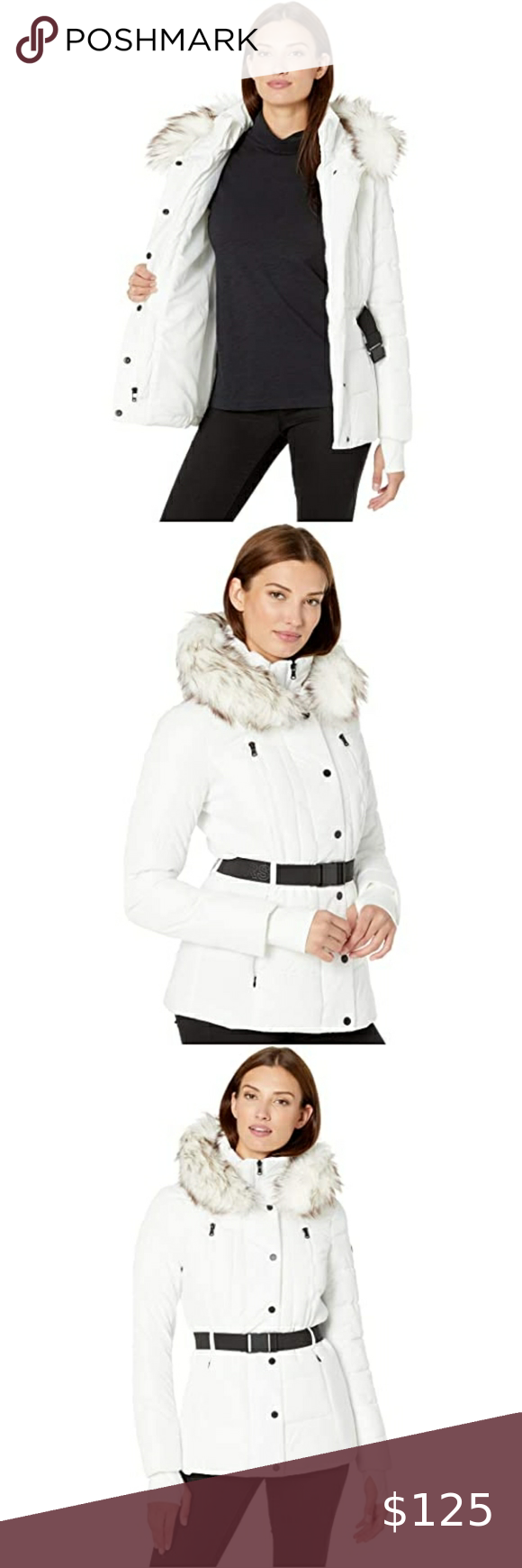 Sold Michael Kors Puffer Jacket Michael Kors Faux Fur Hood Trim Faux Fur Hood [ 1740 x 580 Pixel ]