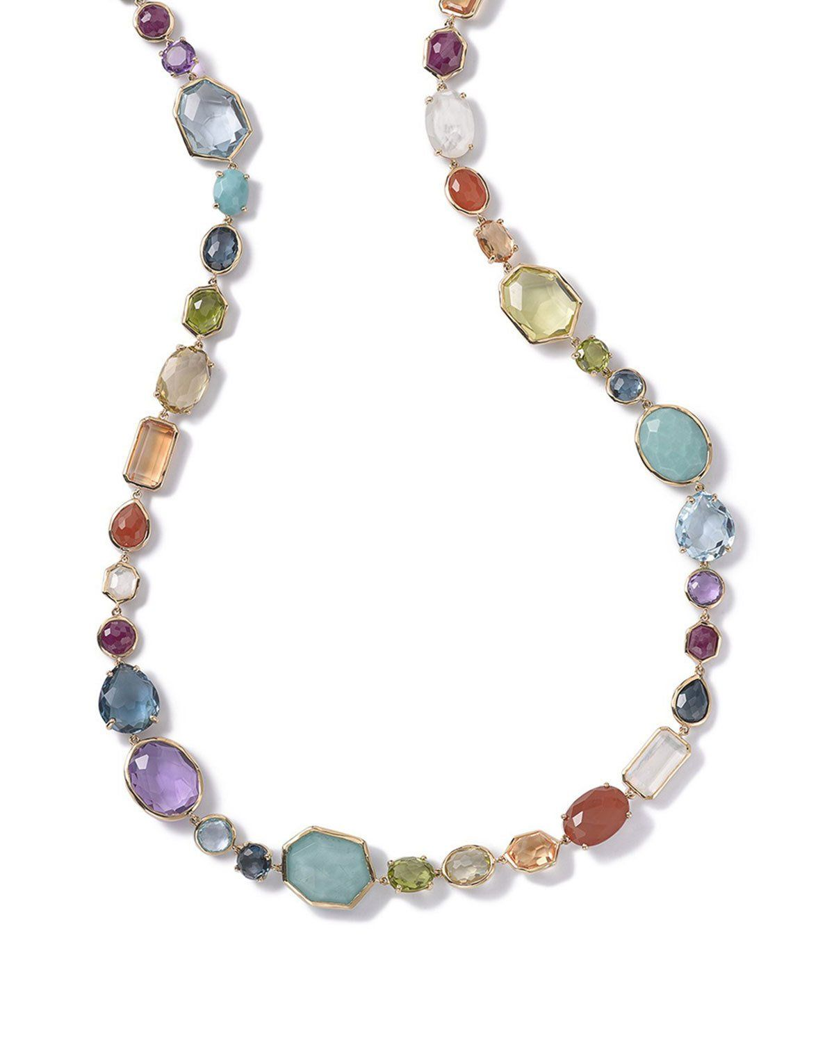 fe65529cf03080 18K Rock Candy Sofia Necklace in Summer Rainbow 39.5 | Products ...