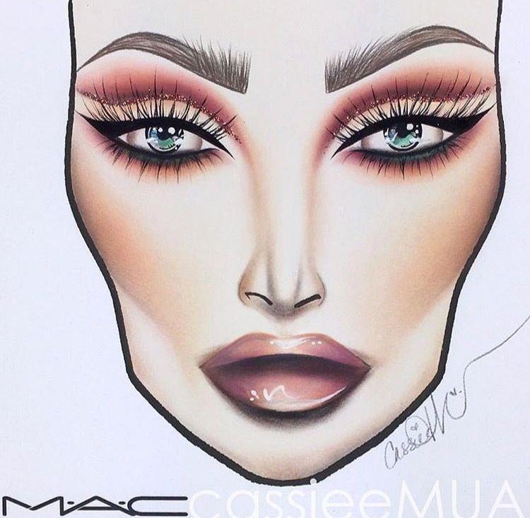 Mac 0 On Twitter Makeup Face Charts Makeup Charts Makeup Drawing