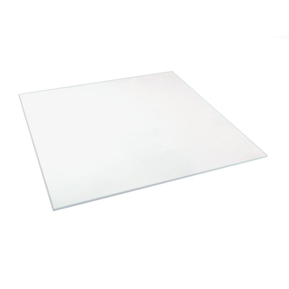 8 In X 10 In X 0 125 In Clear Glass 90810 The Home Depot Clear Glass Glass Cutter Glass