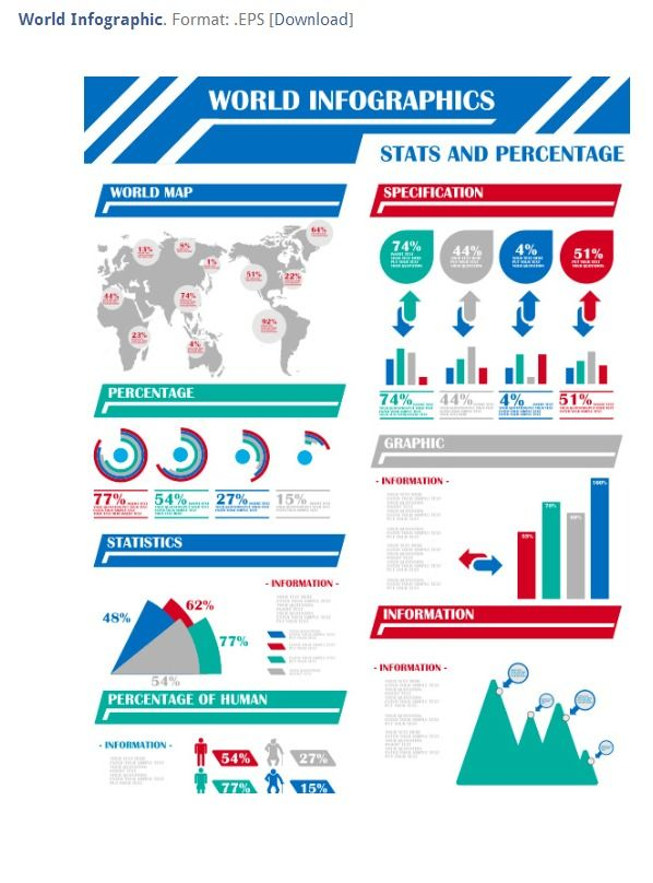 30 Free Infographic Templates Powerpoint Templates Pinterest