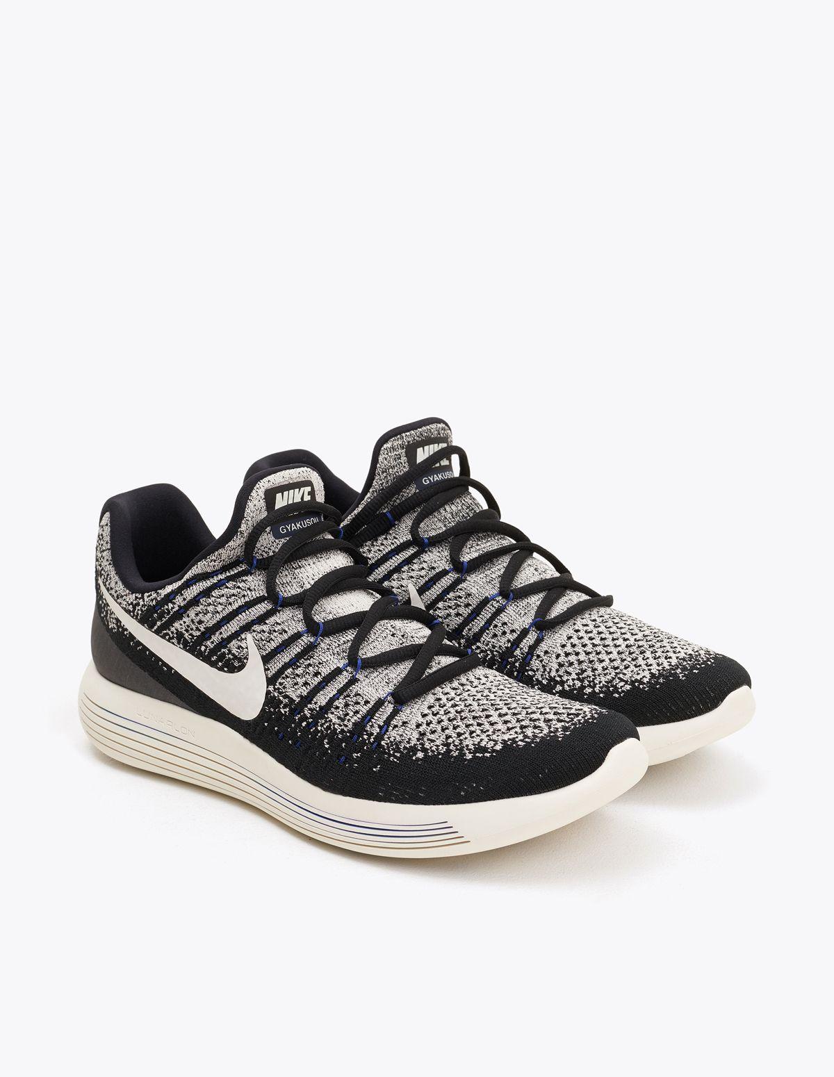 c062d65235e5 Nike x Undercover Gyakusou Lunarepic Low Flyknit 2 Black Sail ...