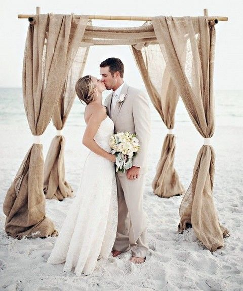 Beach Wedding Ceremony Michigan: 42 Cool Fall Beach Wedding Ideas