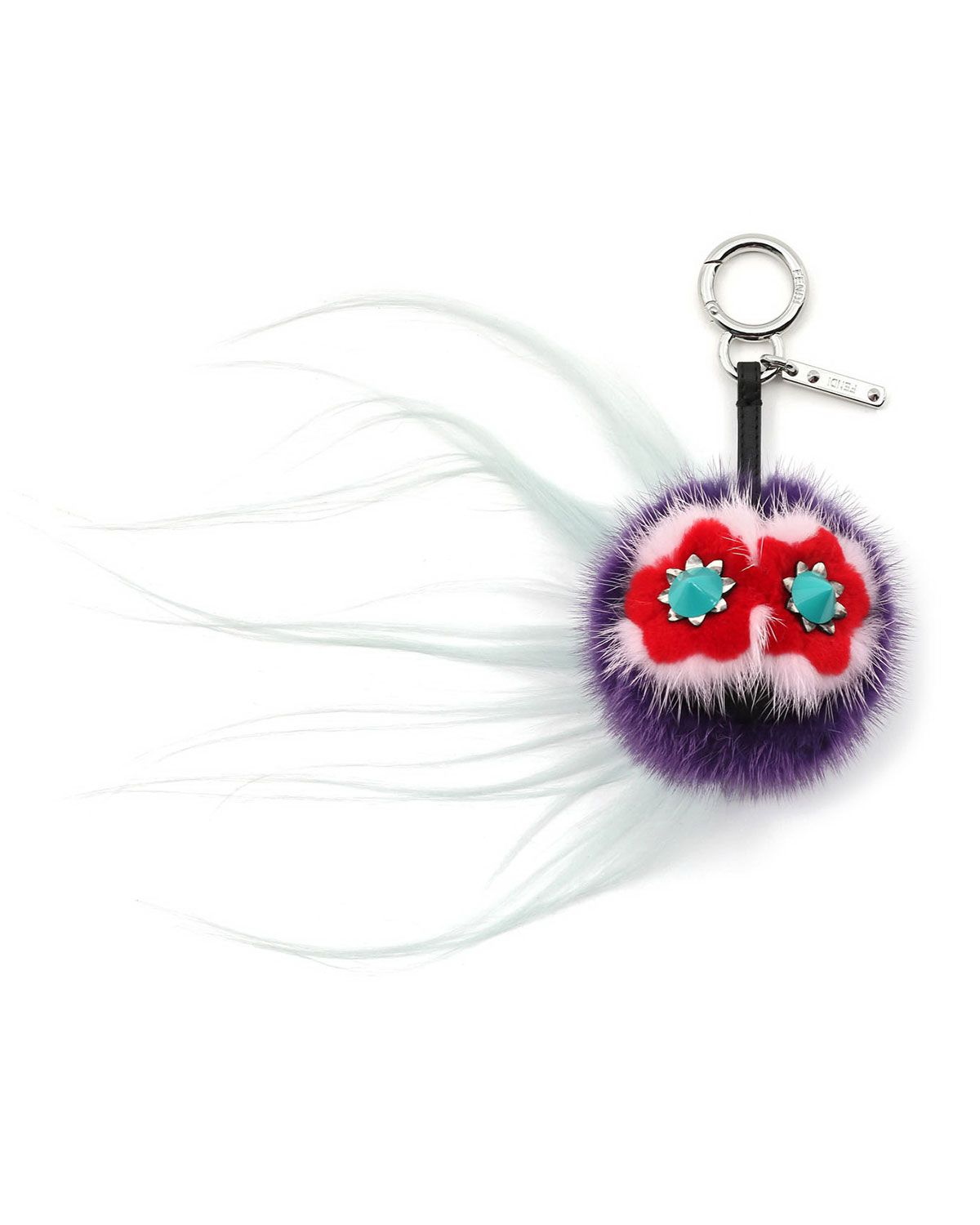 d40d1f0c24a2 Bug Monster Fur Key Chain