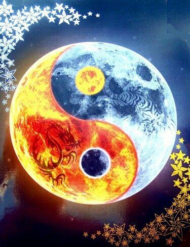 Sun Moon Yin Yang Power Yin Yang Yin Yang Tattoos Ying