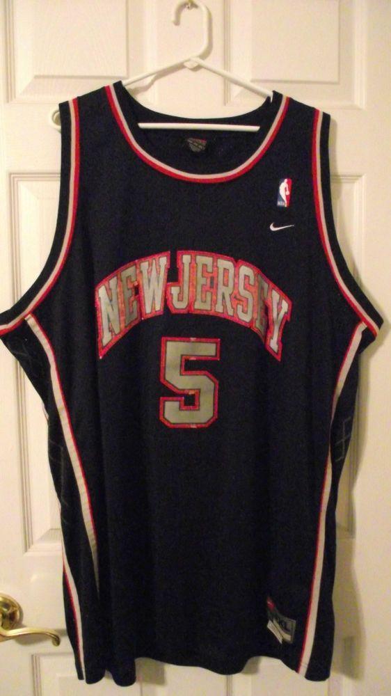 Jason KIDD   5 New Jersey Nets NBA Basketball Jersey 3XL Nike Team Length  +2  Nike  NewJerseyNets abd6a9a31
