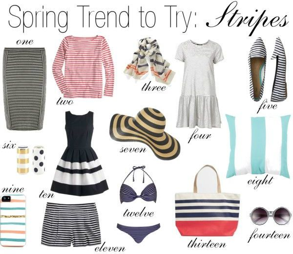 Spring trend to try: stripes