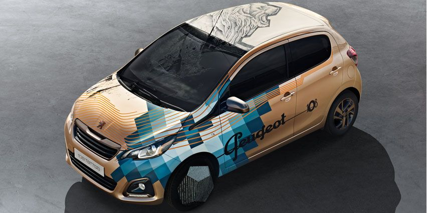 The Peugeot108tatto Concept Peugeot For The First Time In Siag