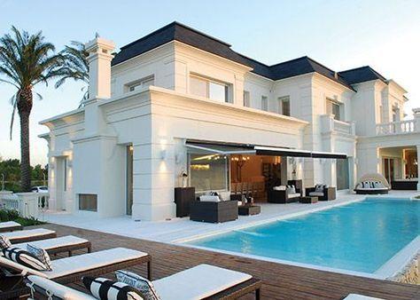 Apa arquitectura puertas y ventanas estilo moderno for Casas estilo frances clasico
