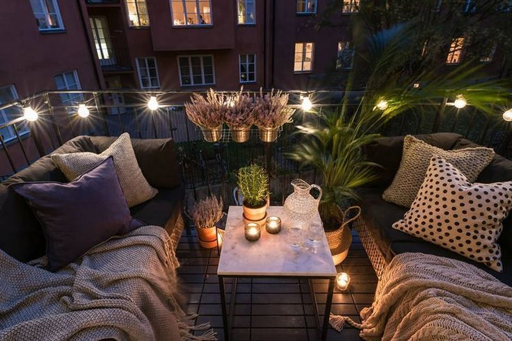 49 Awesome Apartment Balkon Deko-Ideen #apartmentbalconydecorating