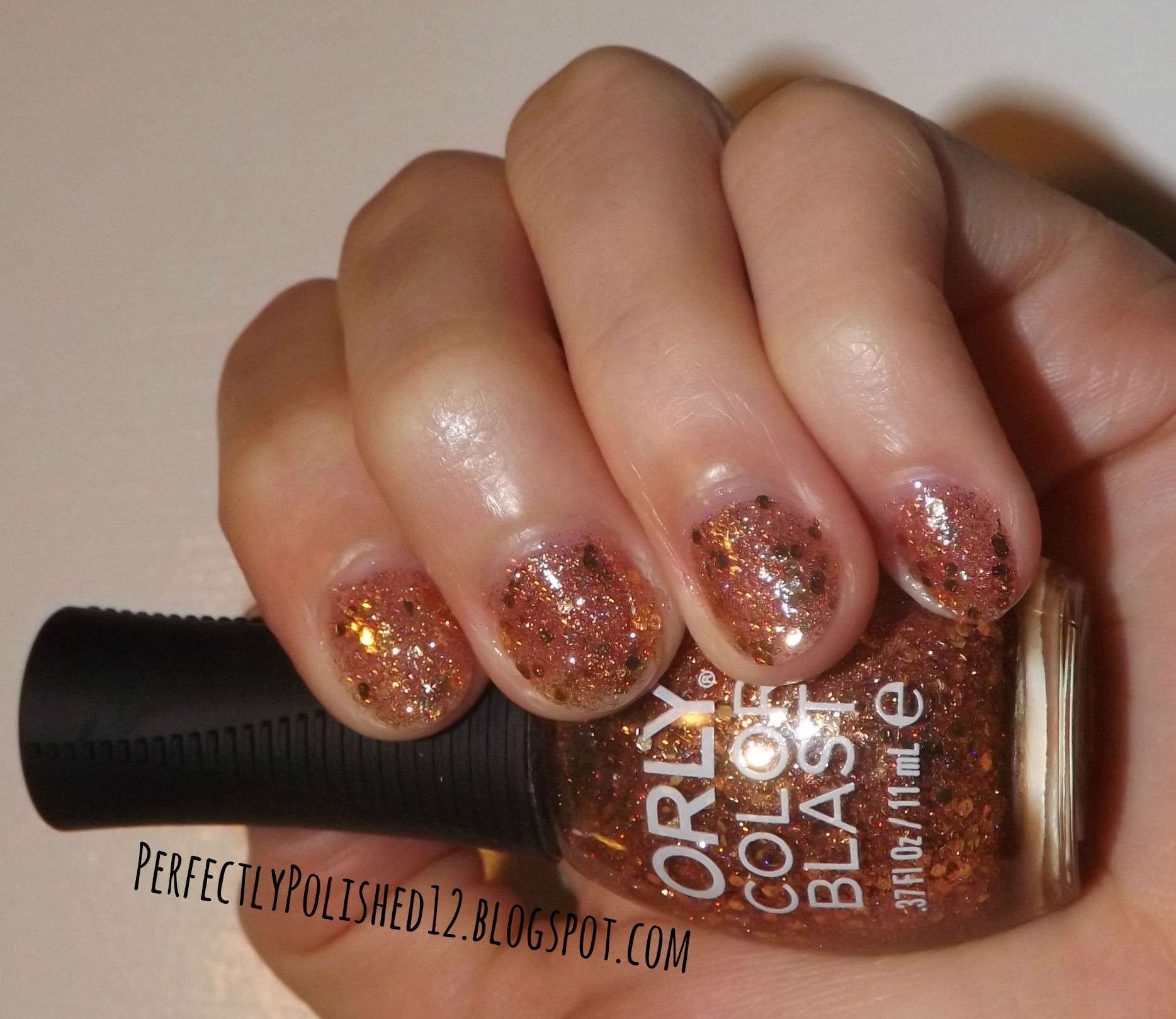 Perfectlypolished12 Orly Color Blast S Price Of Fame Nail Polish Gold Glitter