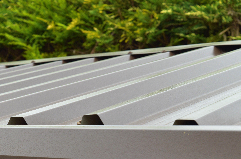Box Profile Cladding Turf Brown Pvc Coated Roof Cladding Corrugated Roofing Cladding