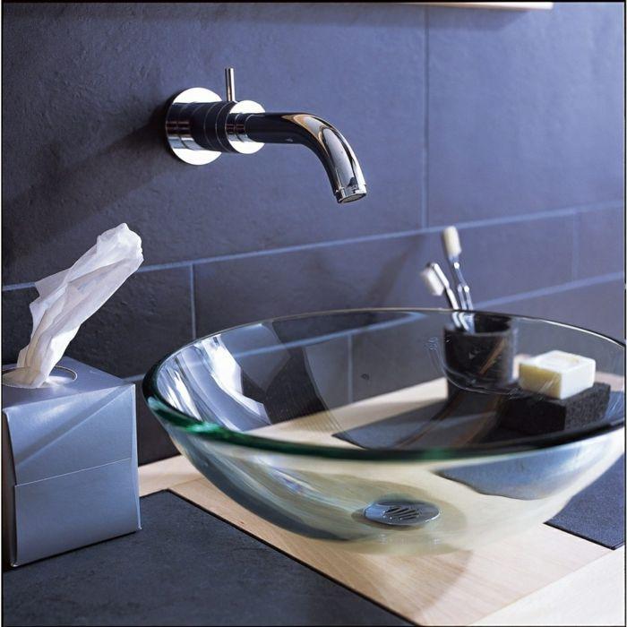 Le Lavabo Vasque Une Perle Dans La Salle De Bain Vasque A Poser Vasque Salle De Bains En Verre