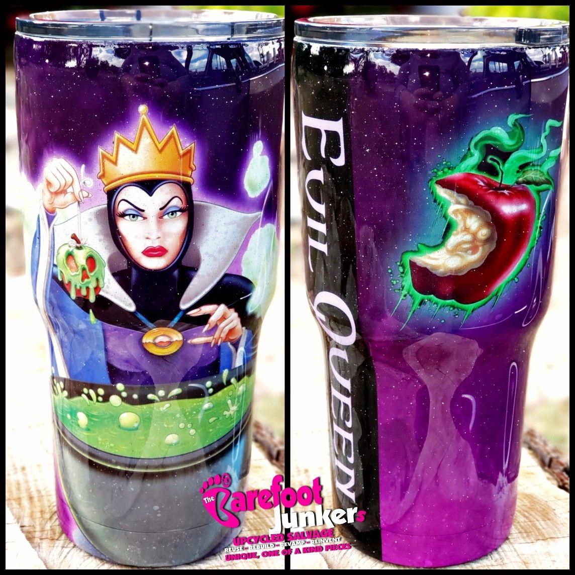 Glow Tumbler gift Custom Cup evil potion personalize Evil Queen Inspired Tumbler snow white Custom Tumbler resin