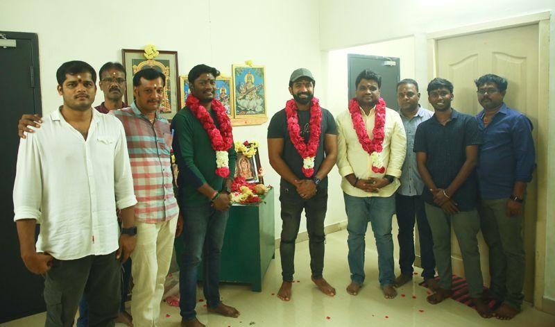 அருண் விஜய் AV 31 திரைப்பட டப்பிங் பணிகள் துவக்கம் !