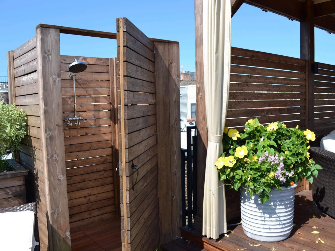Ideas For Outdoor Showers Part - 41: Design Ideas: Outdoor Showers And Tubs | Outdoor Spaces - Patio Ideas,  Decks U0026