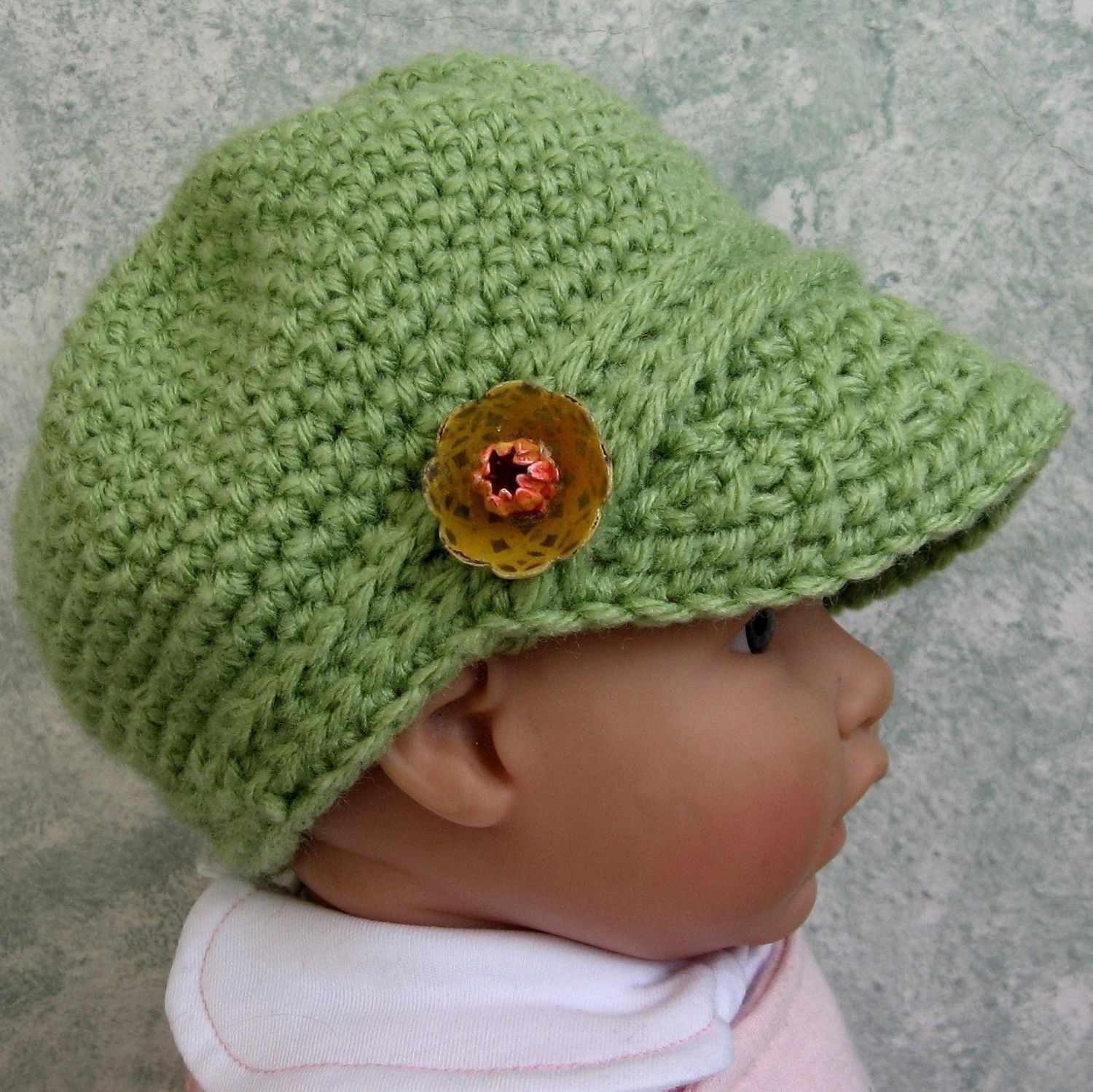 Infant Toddler Newsboy Hat Crochet Pattern PDF Easy To Make May ...