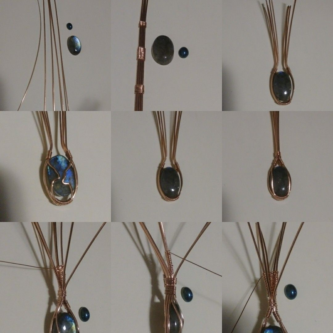 Pin by JALAYNE WEINFURTNER on Wire jewelry tutorial   Pinterest ...