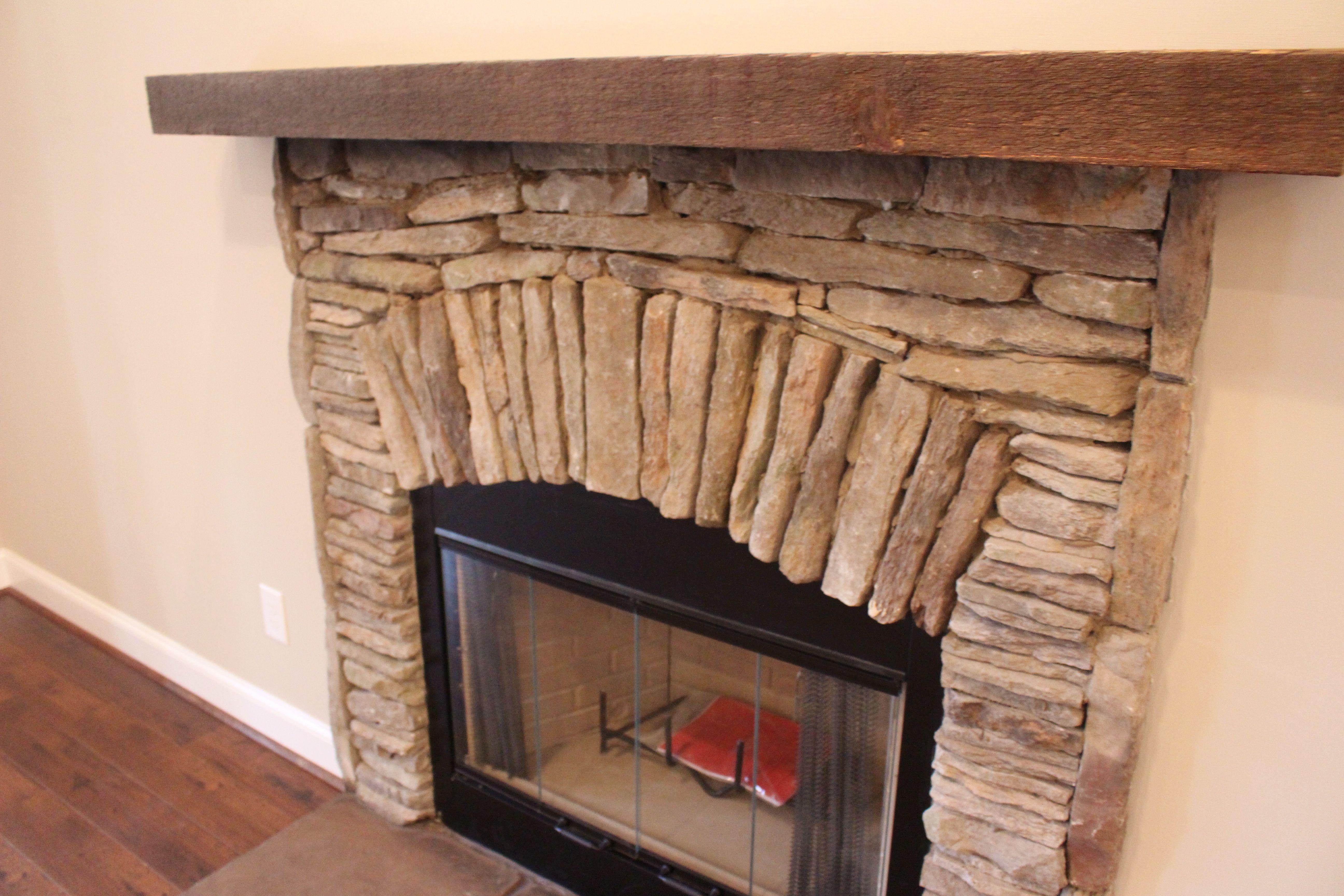 wooding burning stack stone fireplace briarwood plan pinterest