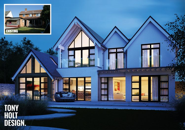 Project Update Self Build Remodel In Christchurch Dorset Tony Holt Design Self Build Designers Craftsman House Plans House Designs Exterior Luxury House Designs