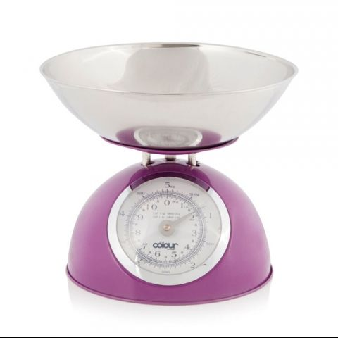 5kg Domed Plum Kitchen Scale | Kitchen scales, Scale and Kitchenware