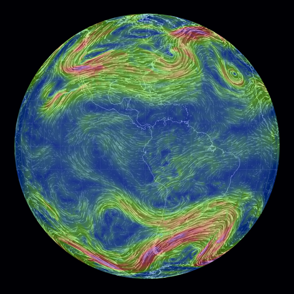 Live Global Weather Map.Earth By Cameron Beccario Is A Beautiful Interactive Animated