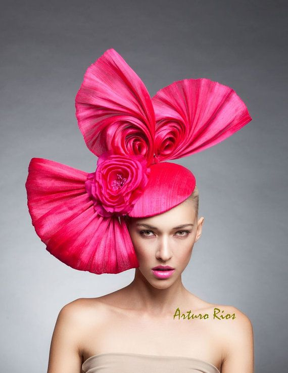 ccd3331f68e48 Hot Pink Swirls Headpiece