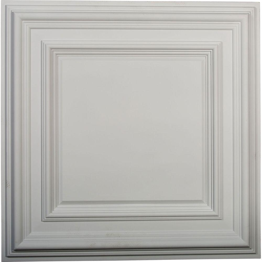 Ekena Millwork 23 3 4 In Classic Square Ceiling Medallion Cm24cl The Home Depot Drop Ceiling Tiles Ceiling Medallions Ceiling Tiles