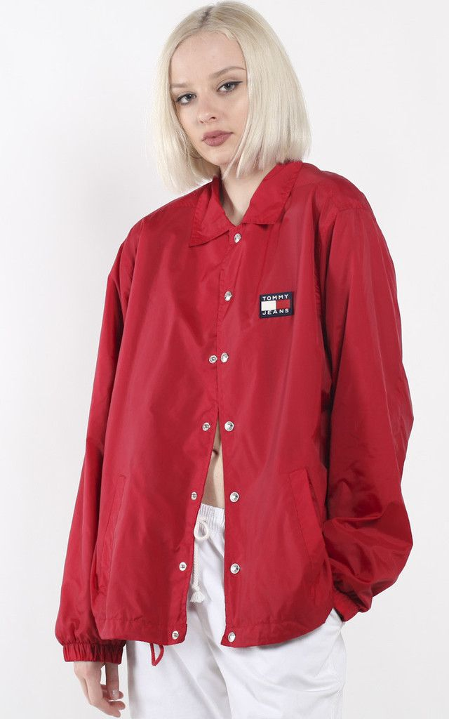 Tommy Vintage Jacket Coach Hilfiger Clothes Pinterest Bgqzv7w