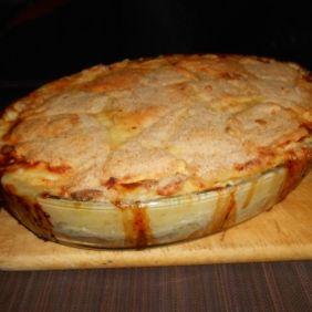 Parmentier de poulet aux courgettes Une nouvelle façon de manger les courgettes… un délice… :D  Pour voir la recette, cliquer sur le lien suivant : http://gastronoome.com/newproducts.php?pid=540