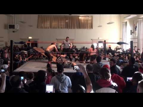 2CW Tag Team Title Match: THE YOUNG BUCKS vs. TEAM 3D THE DUDLEY BOYS