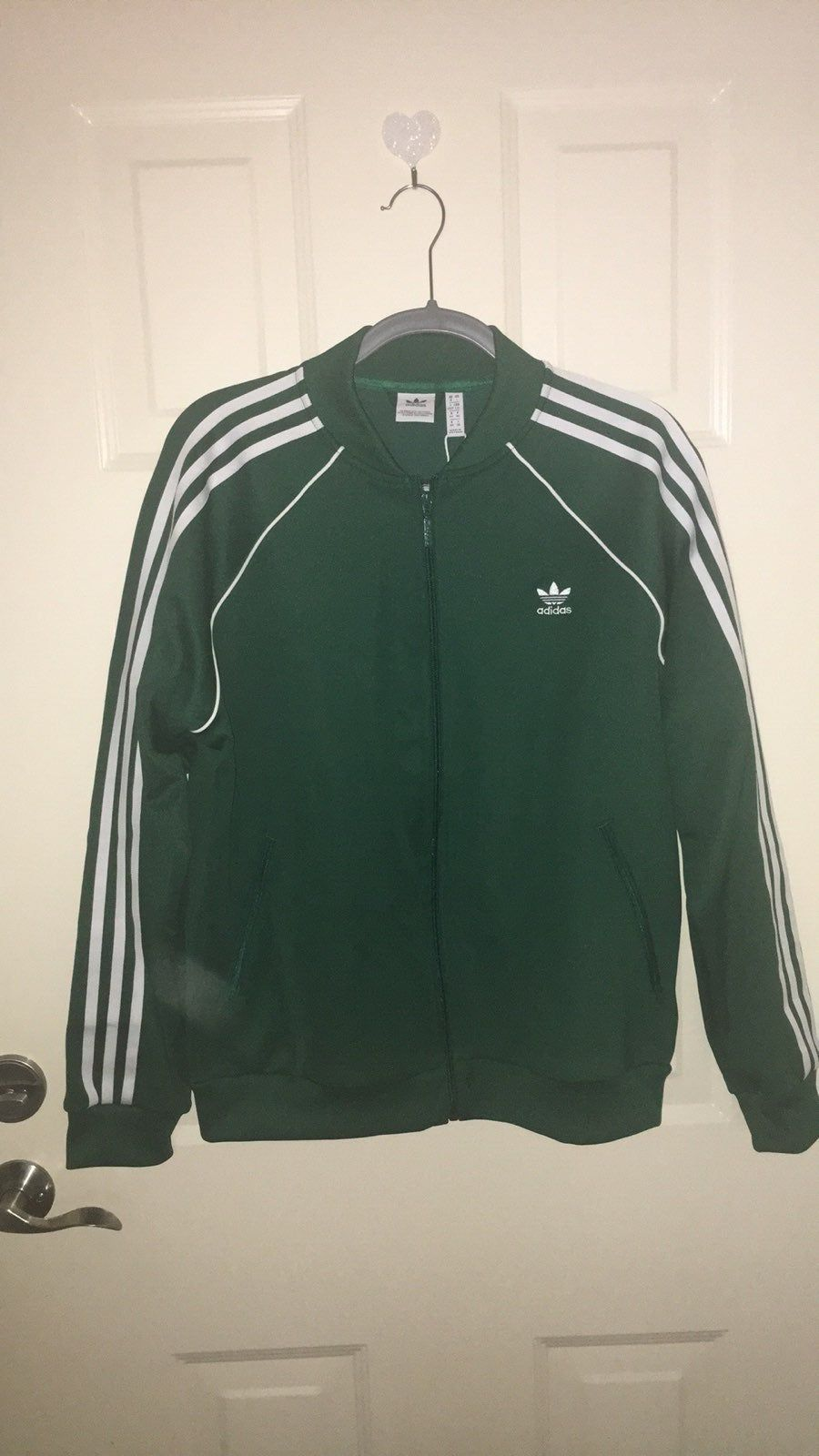 Comfy Dark Green Track Jacket Jackets Adidas Track Jacket Track Jackets [ 1600 x 900 Pixel ]