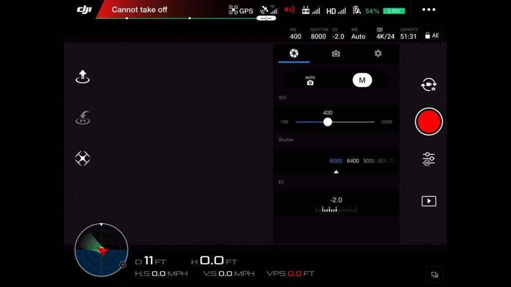 Dji go app a stepbystep guide through every menu