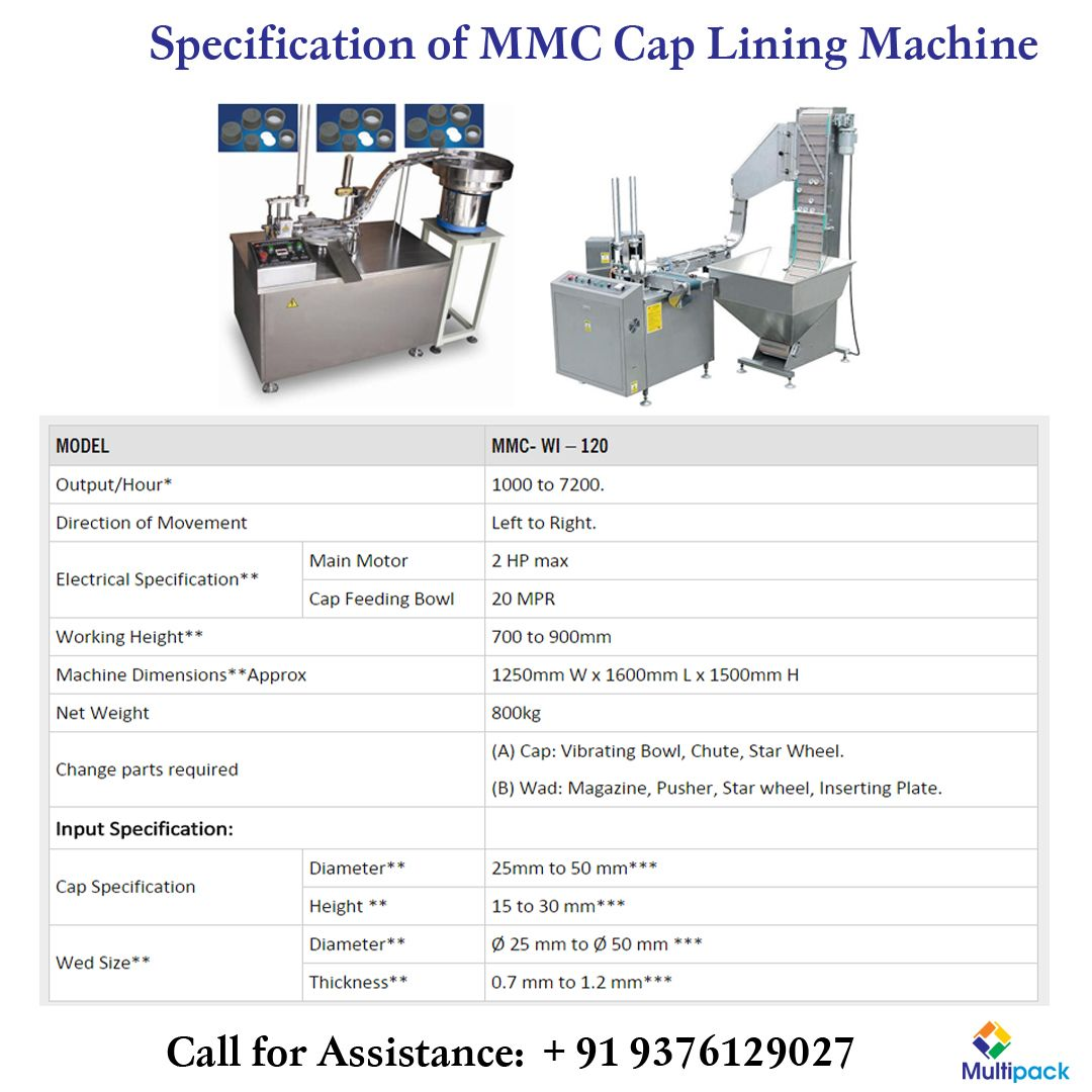 Pin by Multipack Machinery on Our Products Dimensions