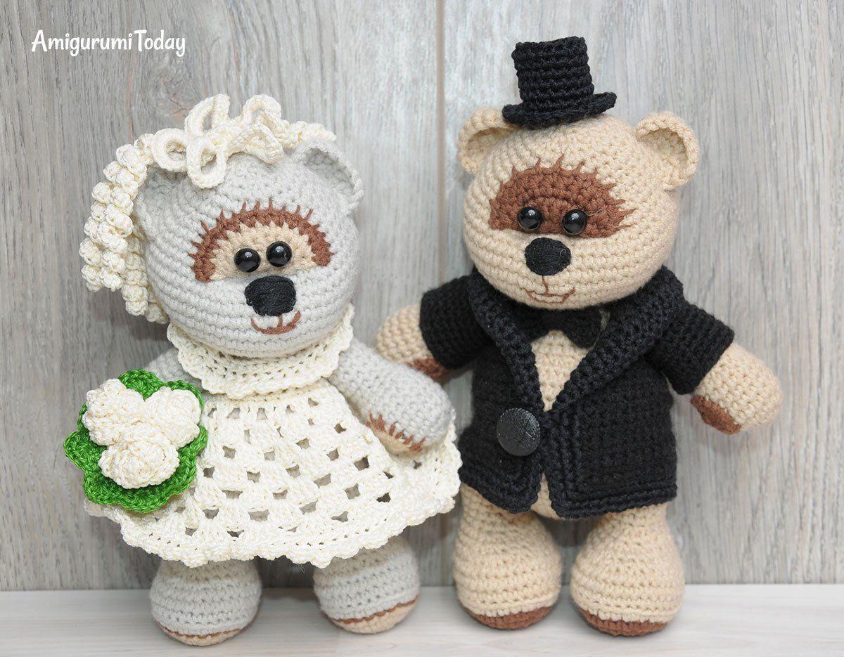 Try this wedding bears crochet pattern crochet pinterest try this wedding bears crochet pattern bankloansurffo Choice Image