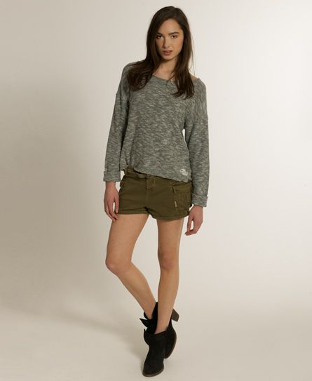 beab55b8a4751 Womens - Military Cargo Shorts in Army Green | Superdry | Cool ...