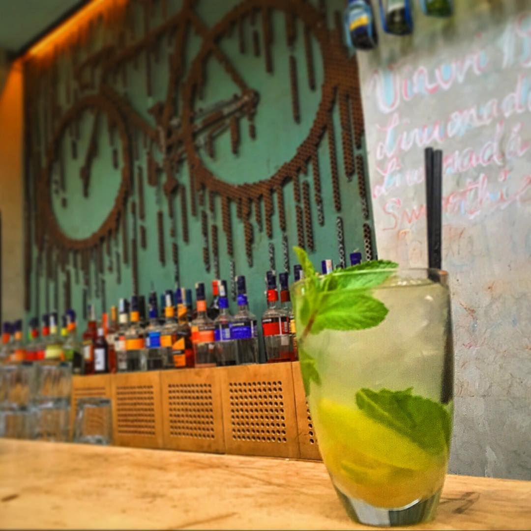 Bicicleta Cocktail Bar - Old Town Bucharest - One of our favourites (Before 8pm and the terrible music starts)
