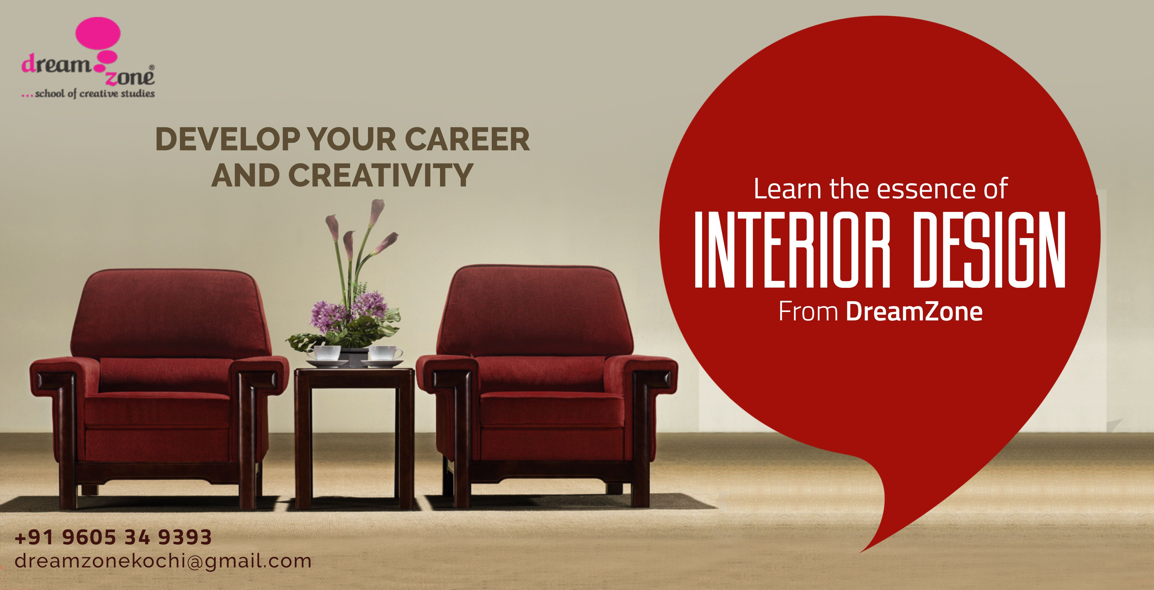 Design A Better Future In Interior Designing With Dreamzone Here