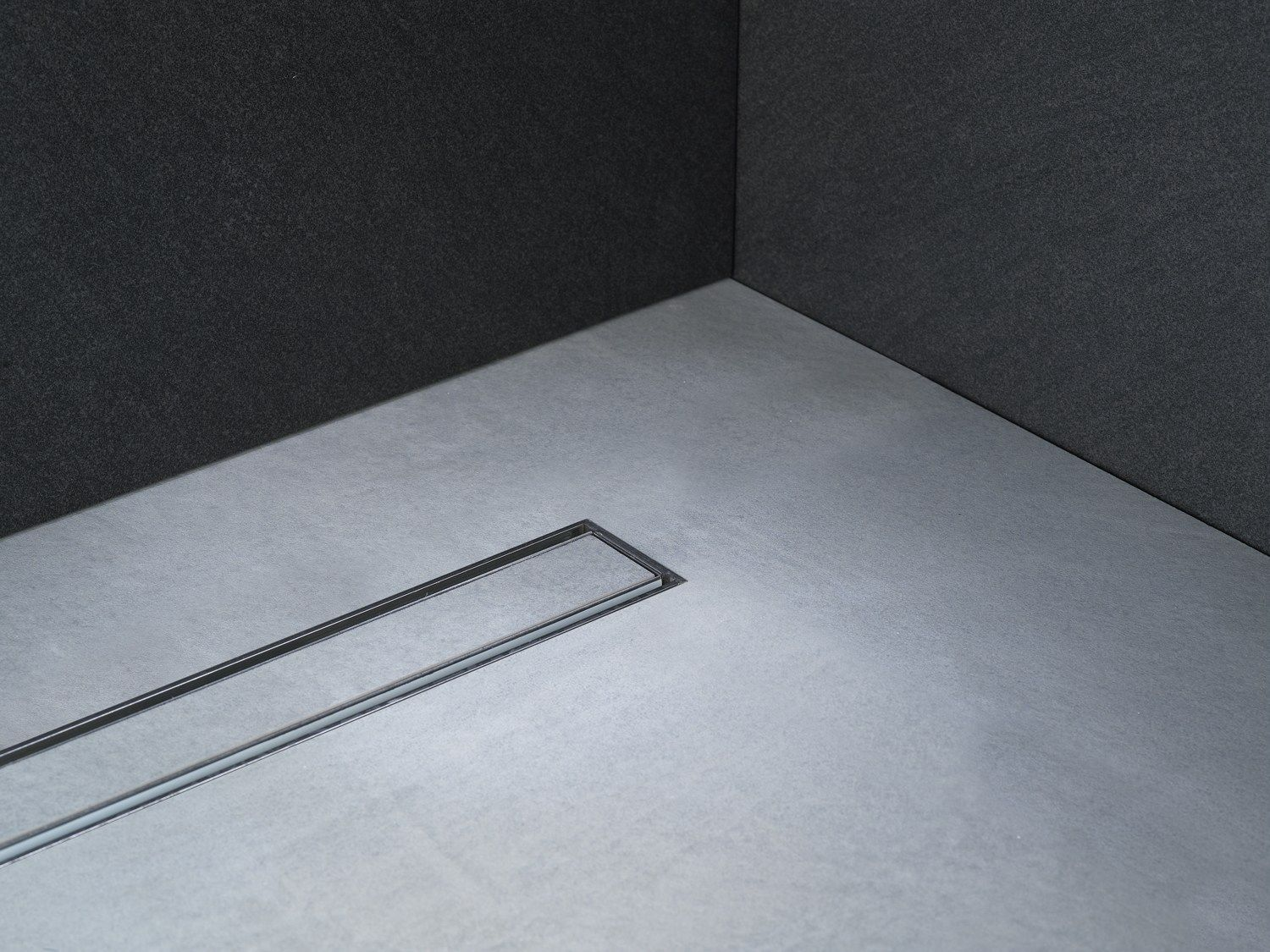 Stainless Steel Shower Channel Linear Drain By Profilitec With