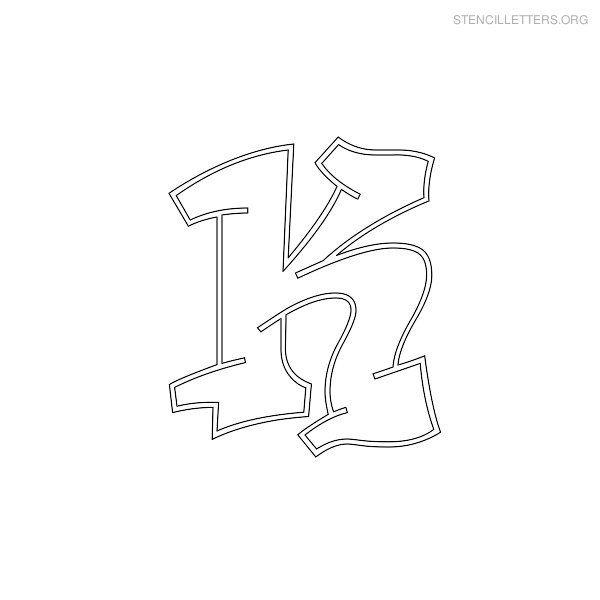 letter k | Stencil Letters K Printable Free K Stencils | Stencil