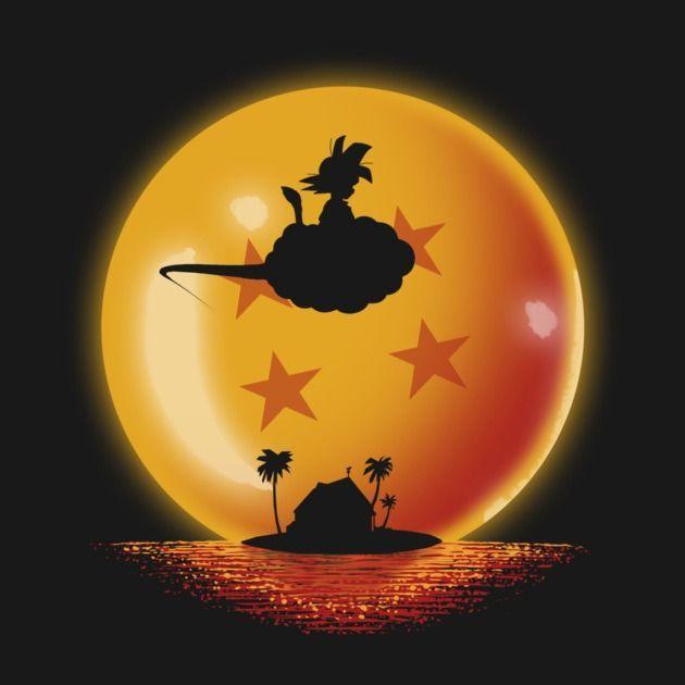 Hero On Sunset Dragon Ball T Shirt The Shirt List Dragon Ball Art Dragon Ball Wallpapers Dragon Ball Goku