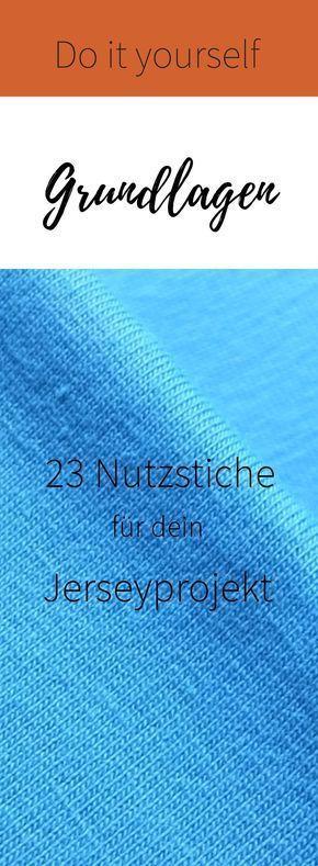 23 points utilitaires pour votre prochain projet de maillot   – Nähen
