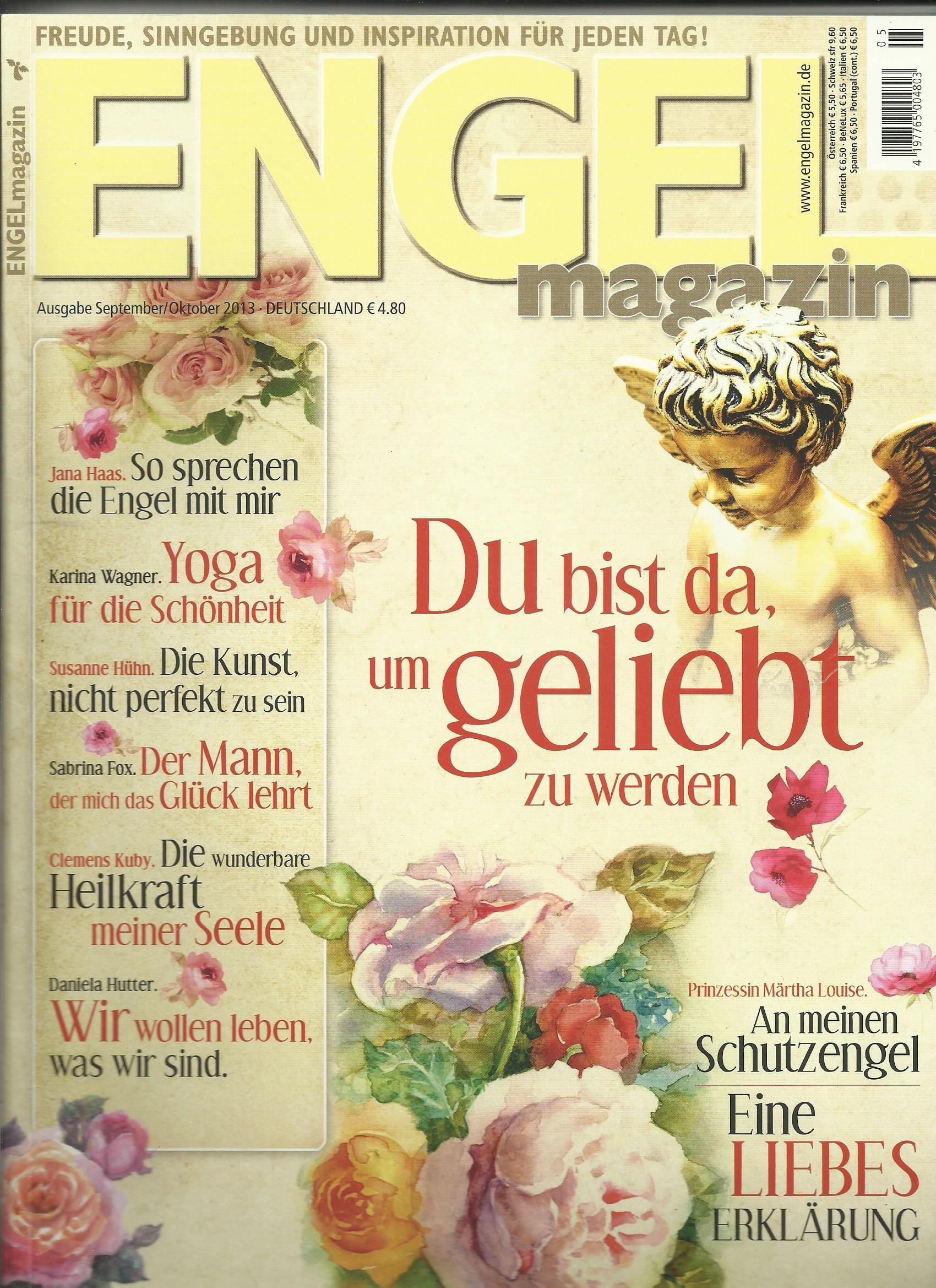 Weiter geht es mit der engelhaften Reihe des Engel Magazins  #Engel #Magazin #Zeitschrift