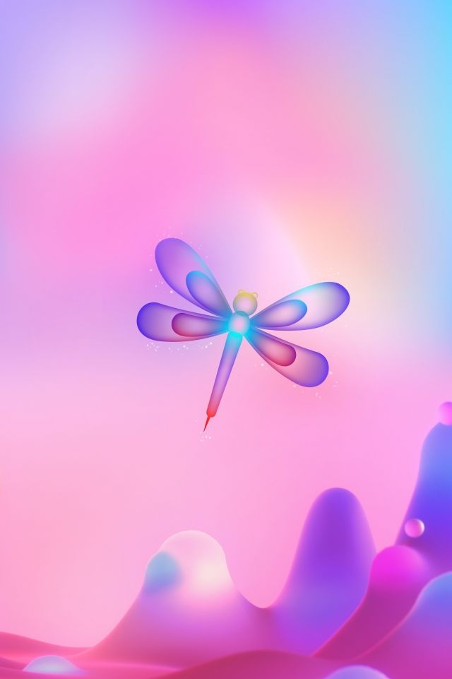 Purple Simple Light And Breathable Butterfly | Simple ...