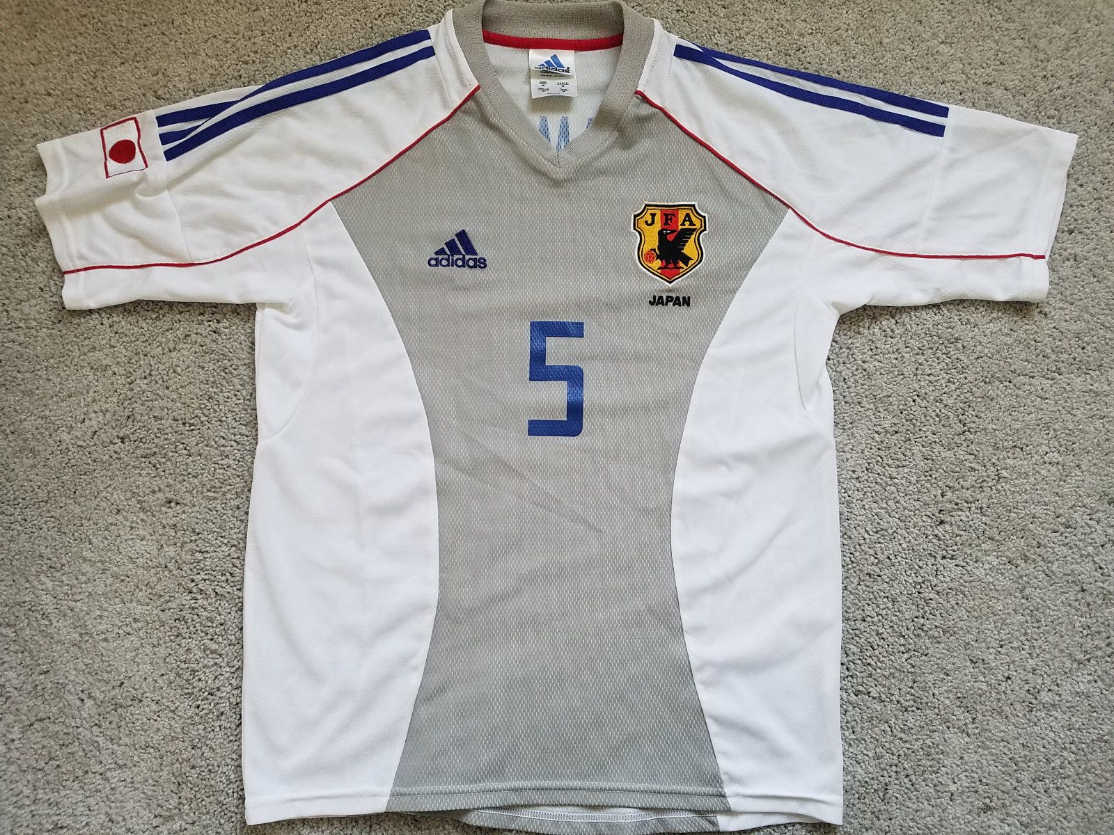 Classic 2002 World Cup Japan Away Jersey Soccer Kit Inamoto Size M Ebay Link Soccer Kits 2002 World Cup Jersey