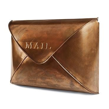Copper Envelope Wall Mailboxextravagant wish for the front door