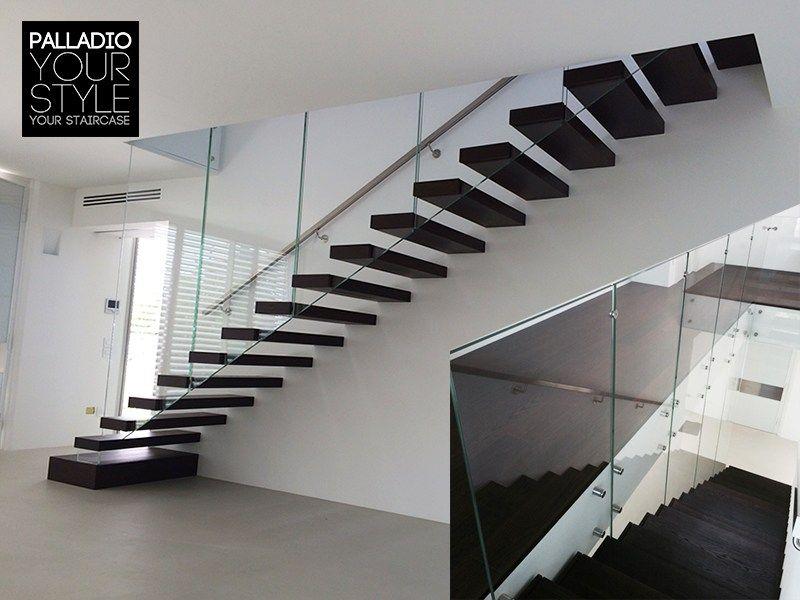 escalera volada de madera palladio wood floating 3 by palladio scale - Escaleras Voladas